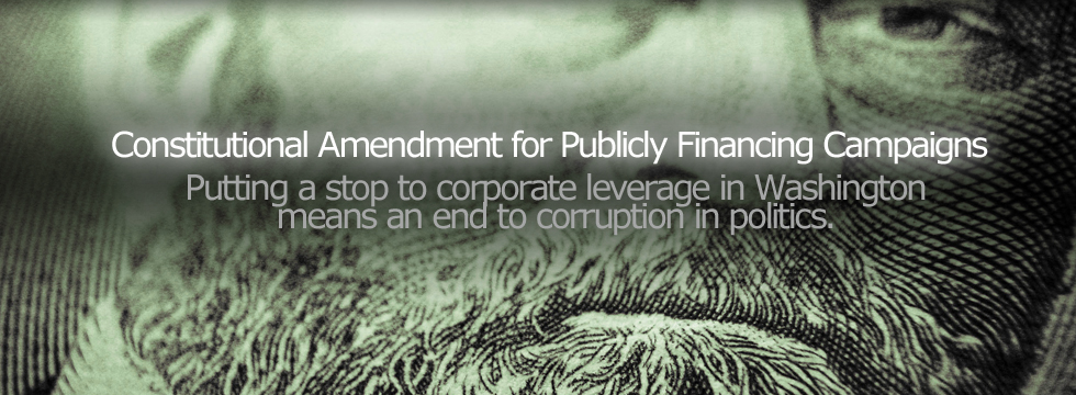 Amendment for Public Financing